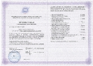 Сертификат повышения квалификации о присвоении квалификации учитель развивающего образования системы Д.Б.Эльконина- В.В.Давыдова, ( 2011г.)